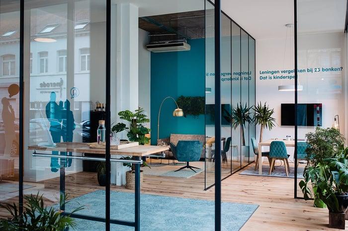 Hypotheek.winkel office interior